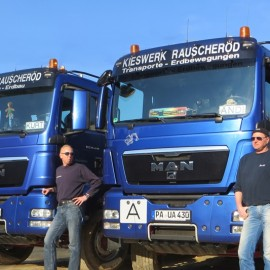 Team Container-Transporte