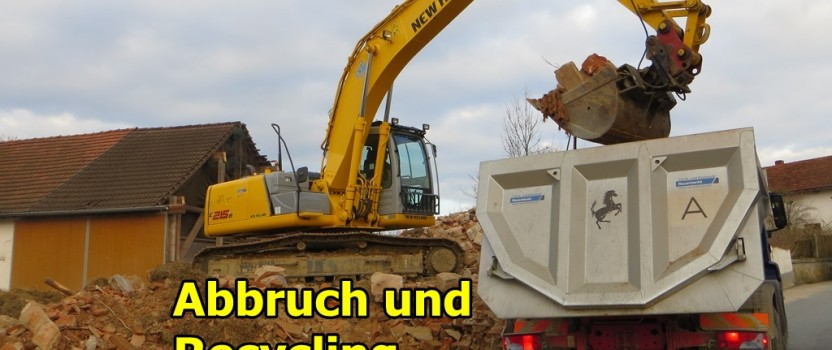 Abbruch in Schönerting