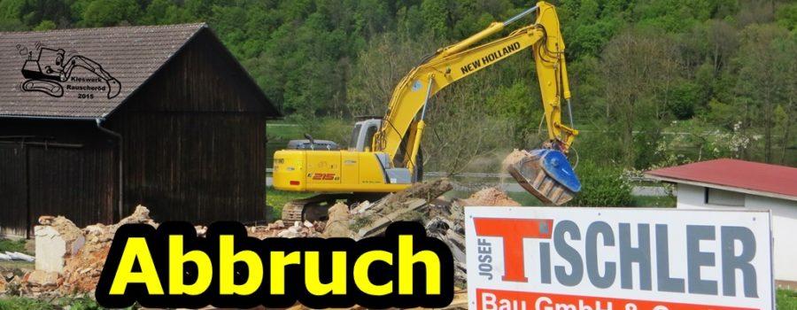 Kieswerk Rauscheröd - Abbruch in Vilshofen für Tischler