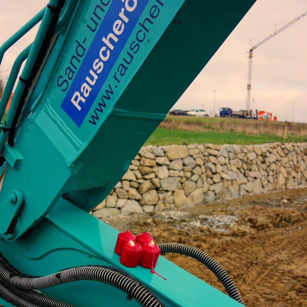 2. Advent auf der Baustelle
