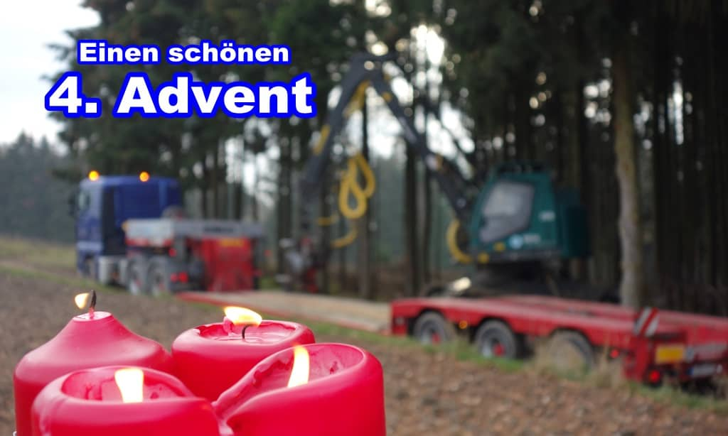 4. Advent im Wald