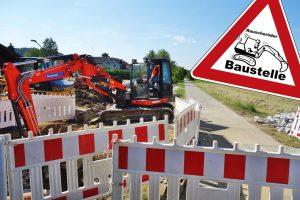 Baustelle Radweg
