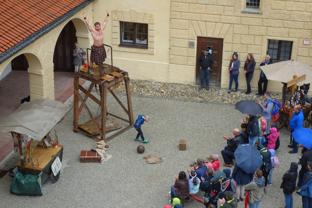 Mittelalterspektakel auf Burg Trausnitz
