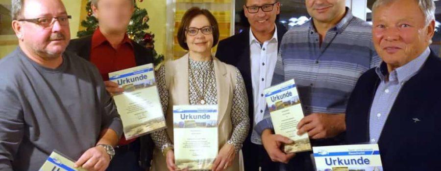 Jubiläen auf der Jahresabschlussfeier 2016