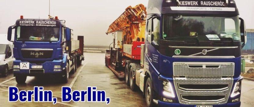 Berlin, Berlin, wir fahren nach Berlin