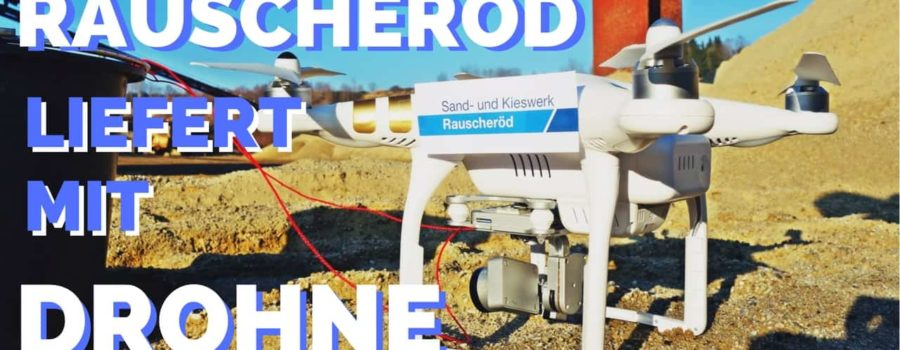 Ab sofort: Lieferung mit Drohne