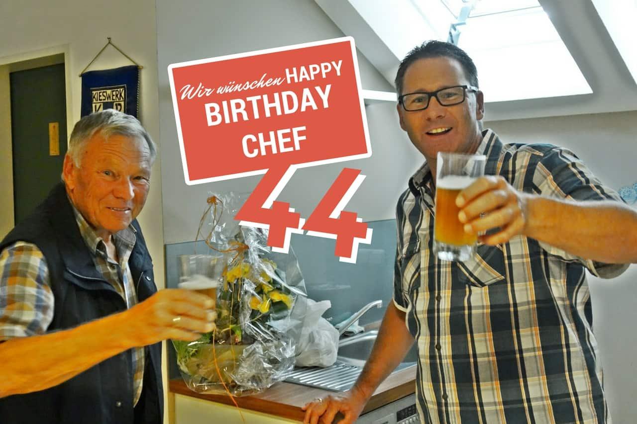 Der Chef Hat Geburtstag Kieswerk Rauscherod