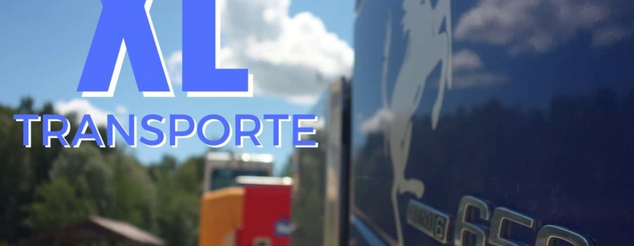 Tiefladertransport XL