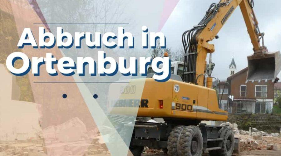 Abbruch im Herzen von Ortenburg