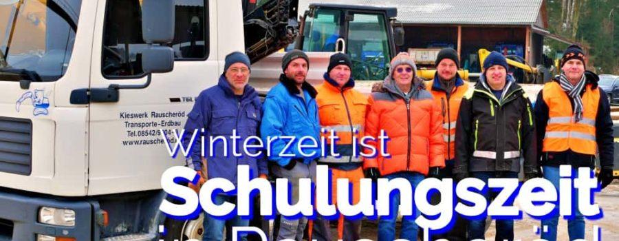 Winterzeit – Schulungszeit